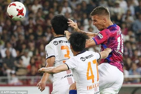 Cd Hed Kandi From Barcelona With 2cd Imported lukas podolski scores on j league debut daily mail
