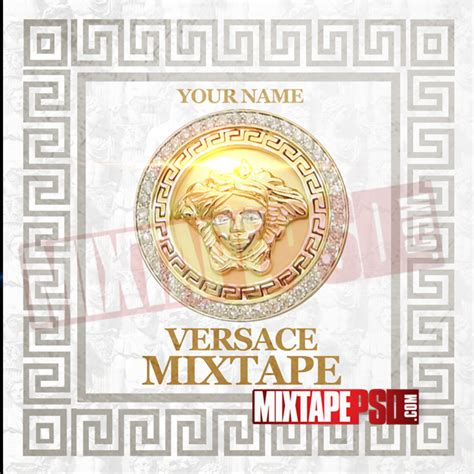 versace pattern psd mixtape template versace mixtape mixtapepsd com