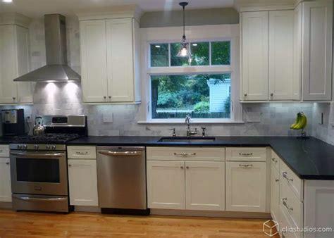 Pinterest Painted Kitchen Cabinets by Dayton Painted White Mission Kitchen Cabinets From
