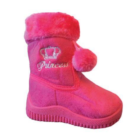 babys infant toddler flat winter fur boots