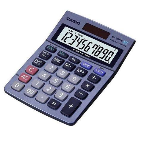 calcolatrice casio casio calculatrice ms 100ter achat vente