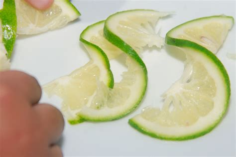 Images For Salad Decoration How To Make Lime Twists 6 Steps With Pictures Wikihow