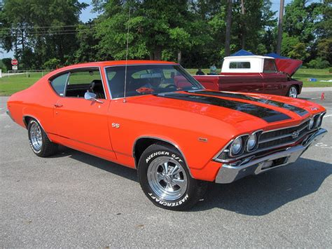 Chevrolet Chevelle 1969 Ss Atomic Rims Orange 90056o car of the day the chevelle