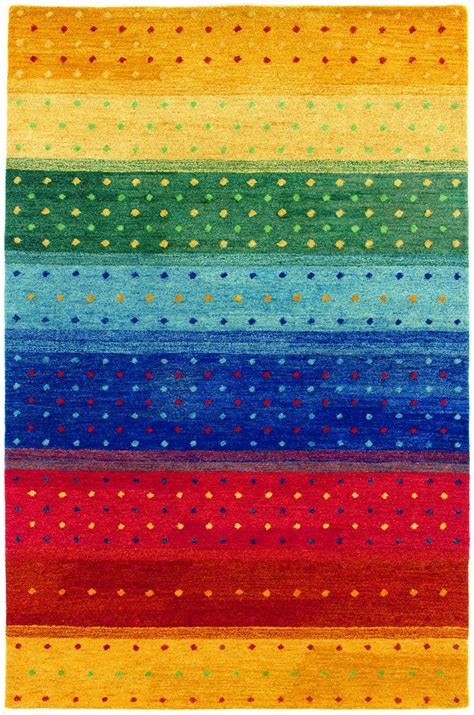 Rainbow Area Rug Funky Rainbow Colored Area Rugs Funkthishouse Funk This House