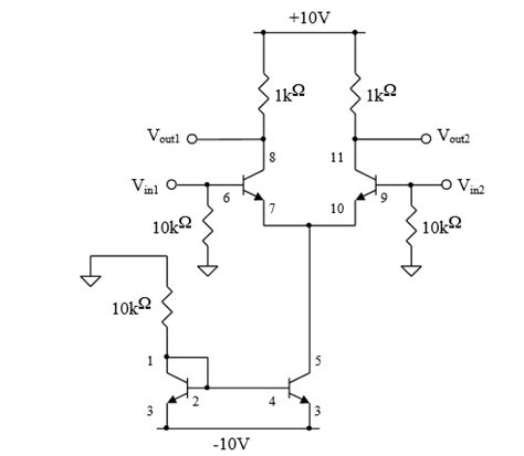 differential transistor lifier gain lifier common mode gain bjt differential electrical engineering stack exchange