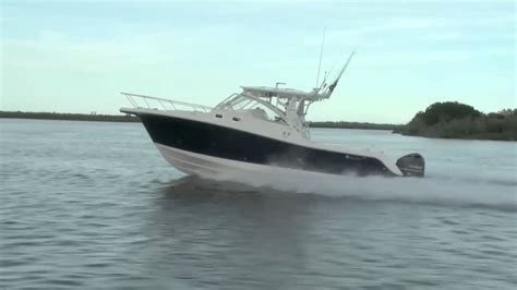 deep sea fishing boat with cabin new edgewater 335ex deep v cuddy cabin boat for sale youtube