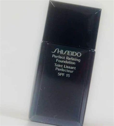 Shiseido Refining Foundation shiseido refining foundation review