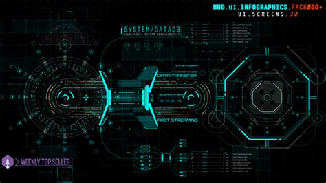 Videohive Hud Ui Infographics Pack 800 Free After Effects Template Videohive Projects Iron Hud After Effects Template