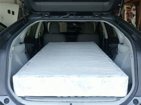 Will A Mattress Fit In A Cargo by Can Sized Mattress Fit Priuschat