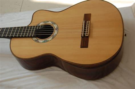 Handmade Guitar Strings - handmade rosewood armrest strings acoustic classical