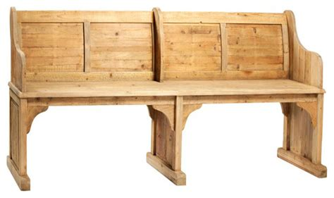 chapel bench consigned vintage chapel bench upholstered benches by
