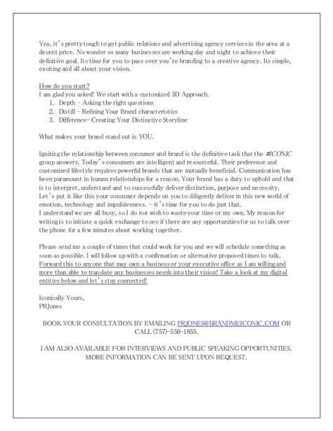 request letter for product promotion sales letter