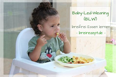 baby led weaning ab wann baby led weaning blw breifrei essen mit fingerfood