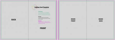 blank quarter fold card template fantastic folded card template ideas professional resume