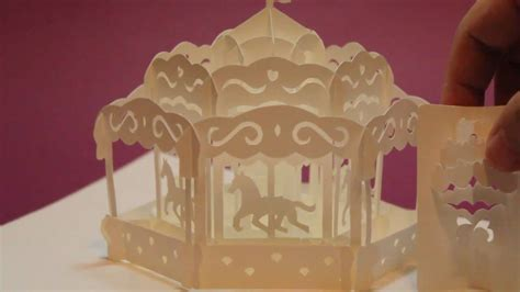 carousel pop  card youtube