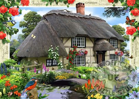 Country Cottage by Ravensburger Jigsaw Puzzles River Cottage No 5 Country