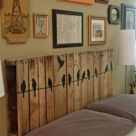 pallet furniture headboard pallet headboard under 20 car interior design