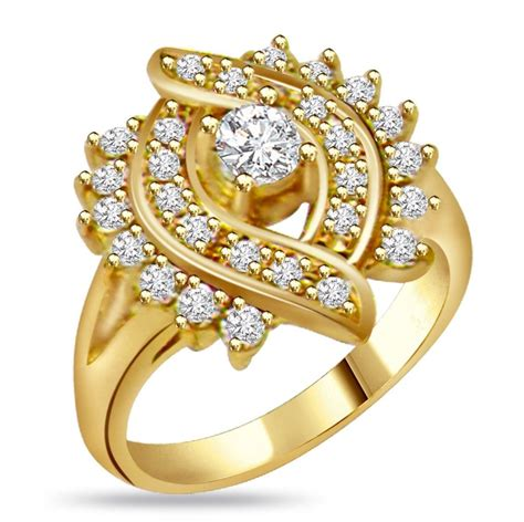 Golden Ring New Design by Dual Circle Ring Design New Ring Gold