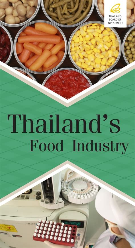 Mba Food Industry by Thailand S Food Industry
