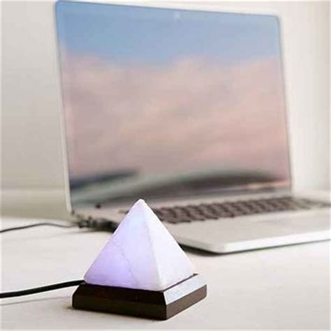 purple himalayan salt l himalayan salt pyramid mini l purple from outfitters