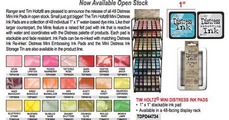 snc's crop.mmunity: new arrivals!!! mini distress ink pads