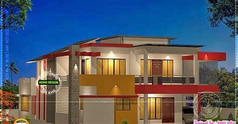 modern house plan 2800 sq ft kerala home design and modern 4 bhk house plan in 2800 sq feet kerala home