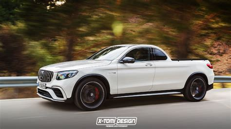 mercedes amg glc 63 rendered mercedes x class forum