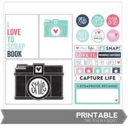scrapbook templates printable one velvet morning project freebies printables