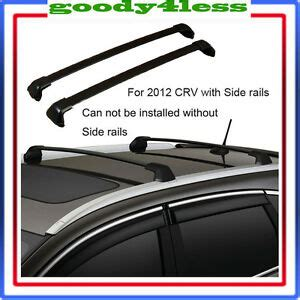 2012 2015 honda crv black roof rack cross bar bolt on to