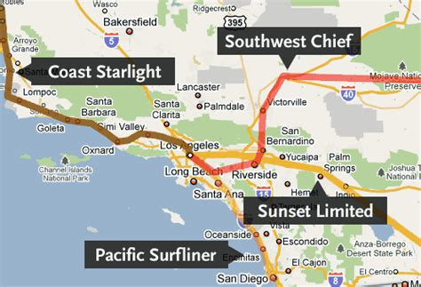 amtrak california station map amtrak arizona map