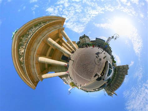 photoshop cs5 tutorial tiny planet effect little planets subblue