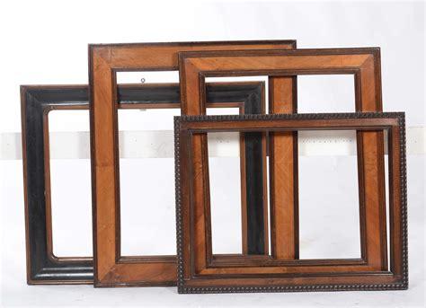 cornici legno intagliato quattro cornici in legno intagliato xx secolo cornici