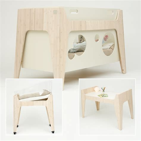 Eco Friendly Baby Furniture From Castor Chouca Kidsomania Eco Friendly Baby Cribs