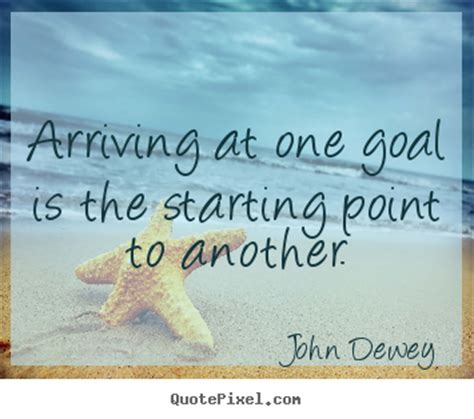 design picture quotes  success arriving   goal   starting point