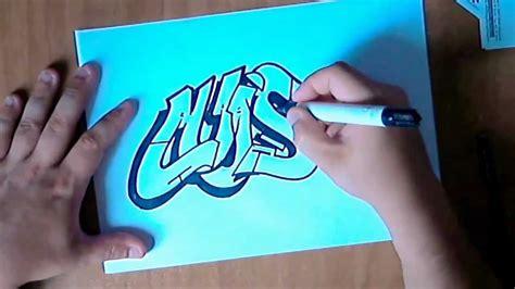 graffiti paso  paso dibujando  graffiti parte