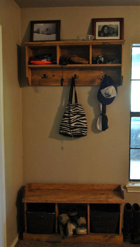 ana white entry  bench  storage diy projects
