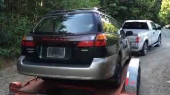 old subaru legacy this old car 2001 subaru legacy outback youtube