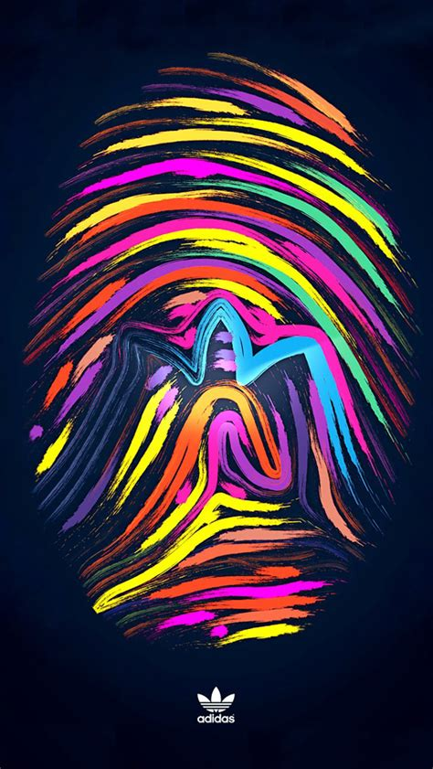 Adidas Pattern By Finger Printed 0274 Casing For Galaxy A9 2016 Ha fingerprint multicolor adidas iphone 5s wallpaper welcome to my website to get more