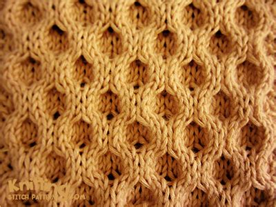 honey comb knit classic aran honeycomb knitting stitch patterns