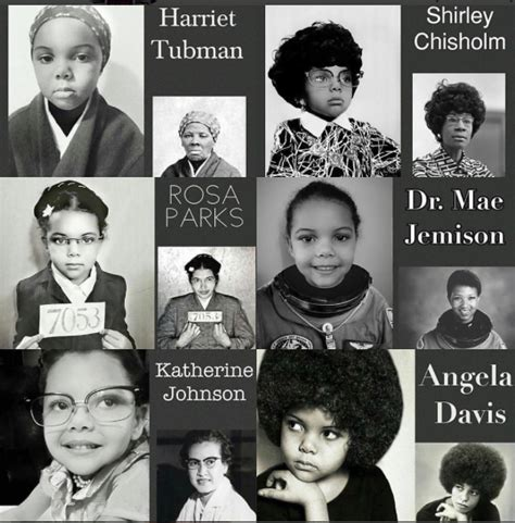 thinking women history 298 mom and 5 year old recreate iconic black women in history