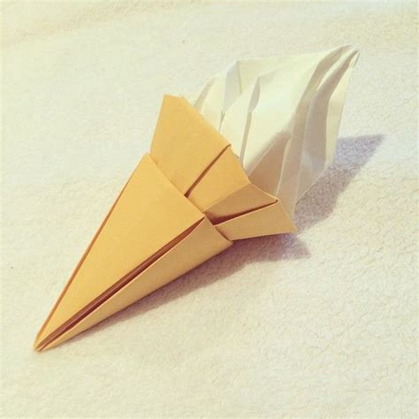 Origami Cone - 227 best images about origami on simple