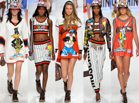 Rs Moschino Shirt fashion week 2015 dov 233 finita l irriverenza di