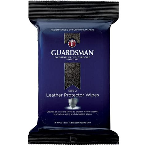 clorox wipes on leather couch guardsman leather protector wipes set of 20 walmart com