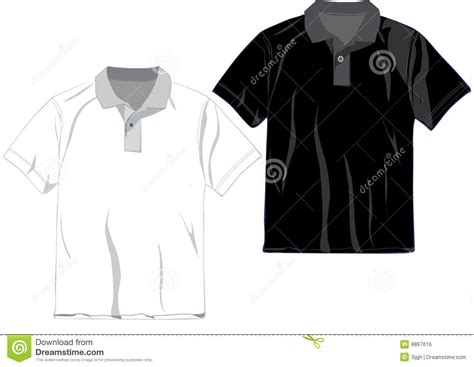 design a polo shirt template polo t shirt design template royalty free stock image