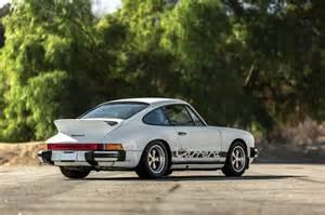 Porsche 911 Ducktail Porsche 911 2 7 Coupe With Ducktail Option 911