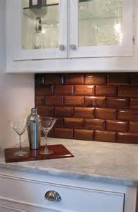 Brick Tile Kitchen Backsplash by Glass Brick Tile Backsplash Photo Home Furniture Ideas