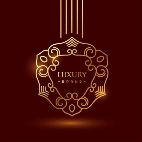 free luxury logo design luxury golden logo vector free download