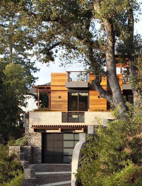 modern hillside homes nurani org gallery of hillside house sb architects 14
