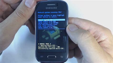 wallpaper galaxy young s6310 how to factory reset samsung galaxy young s6310 youtube