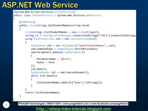 tutorial web service asp net sql server net and c video tutorial autocomplete